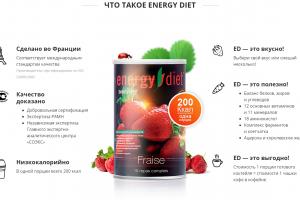 что такое energy diet