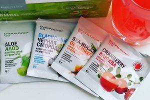 Сухие витаминизированные морсы Enerwood Vita от NL