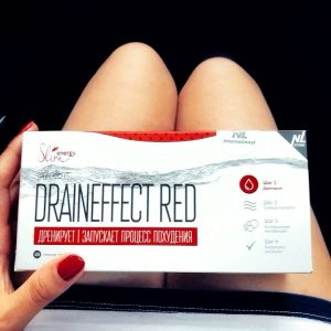 energy slim draineffect red