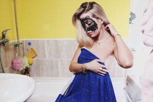 угольная маска-скраб NL