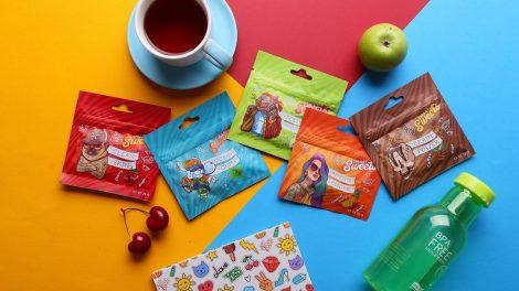 Функциональные конфеты и жвачка