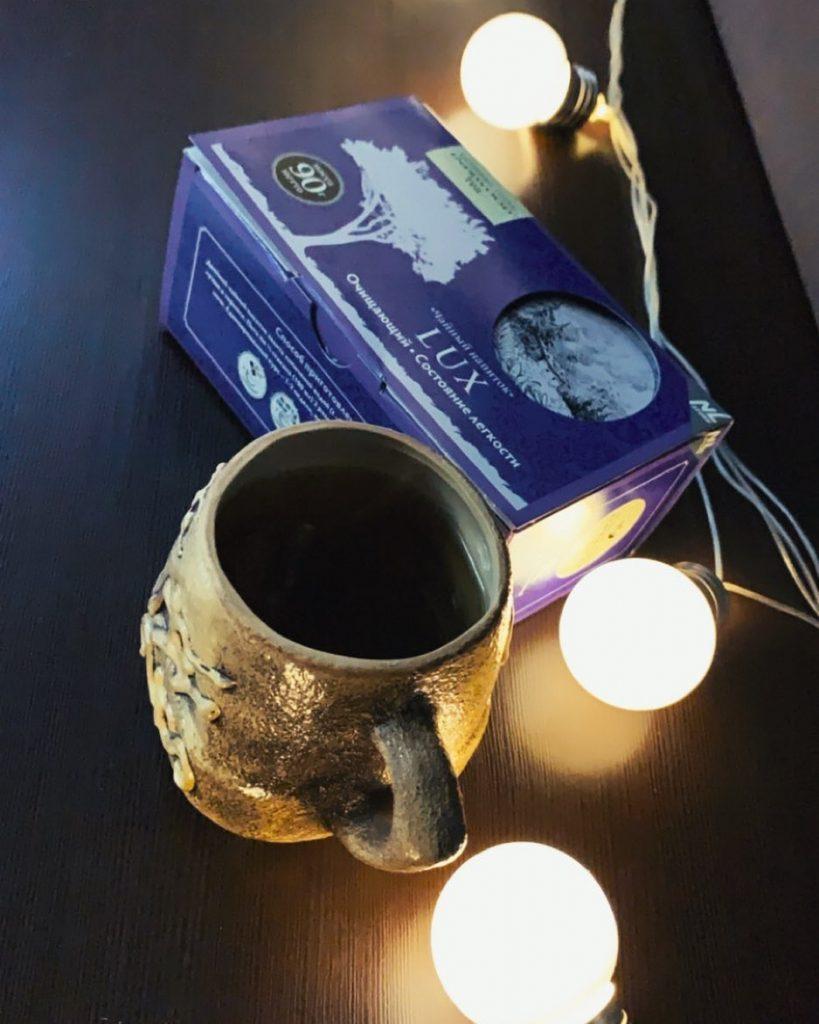 очищающий чай Nl